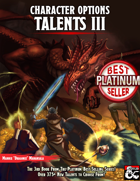Character Options: Talents III (5E)