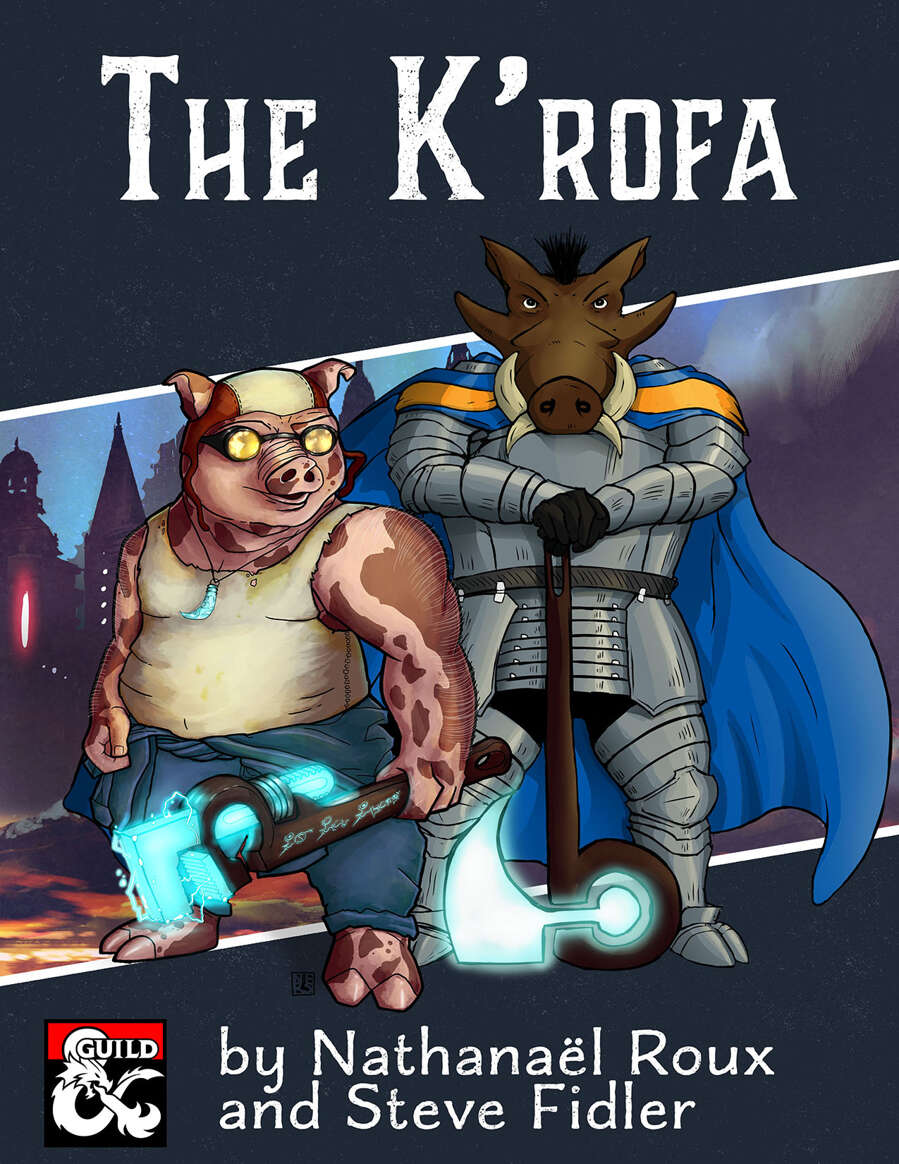 The K'rofa, a porcine race