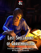 Lost Spellbooks of Gravenhollow