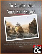 To Account for Ships and Sailors