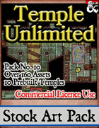 Unlimited Temples - Stock Art Pack