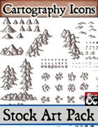 Cartography Icons - Stock Art Pack
