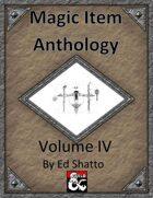 Magic Item Anthology IV
