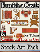 Furnish a Castle - Stock Art Pack