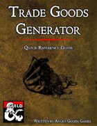 TRADE GOODS GENERATOR