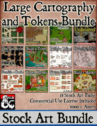 Cartography Assets Bundle - Stock Art [BUNDLE]