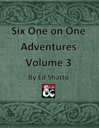 6 (7) 1on1 Volume 3 [BUNDLE]