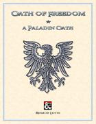 Oath of Freedom