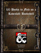 100 Books to Find on a Ravenloft Bookshelf