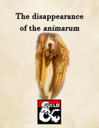The disappearance of the animarum