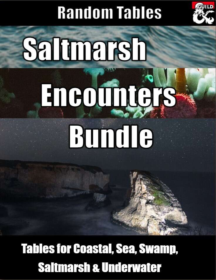 Saltmarsh Encounters Bundle