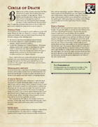 Druid Subclass - Circle of Death