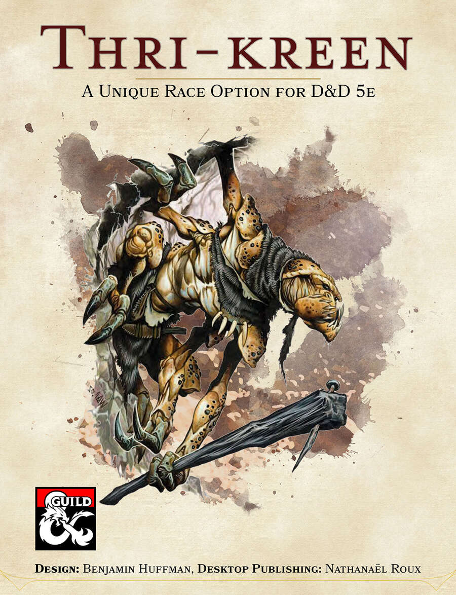 Thri Kreen A New Playable Race For 5e Dungeon Masters Guild Dungeon Masters Guild