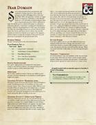 Cleric Subclass - Fear Domain