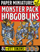 Paper Miniature Monster Pack: HOBGOBLINS!