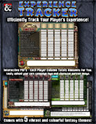 Character Experience Tracker
