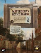Waterdeep's Notice Boards 2 (Fantasy Grounds)
