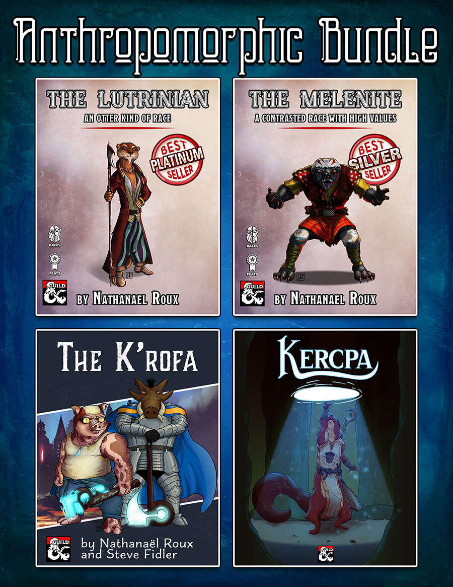 Anthropomorphic Races Bundle Cover