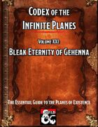 Codex of the Infinite Planes Vol 21 Gehenna