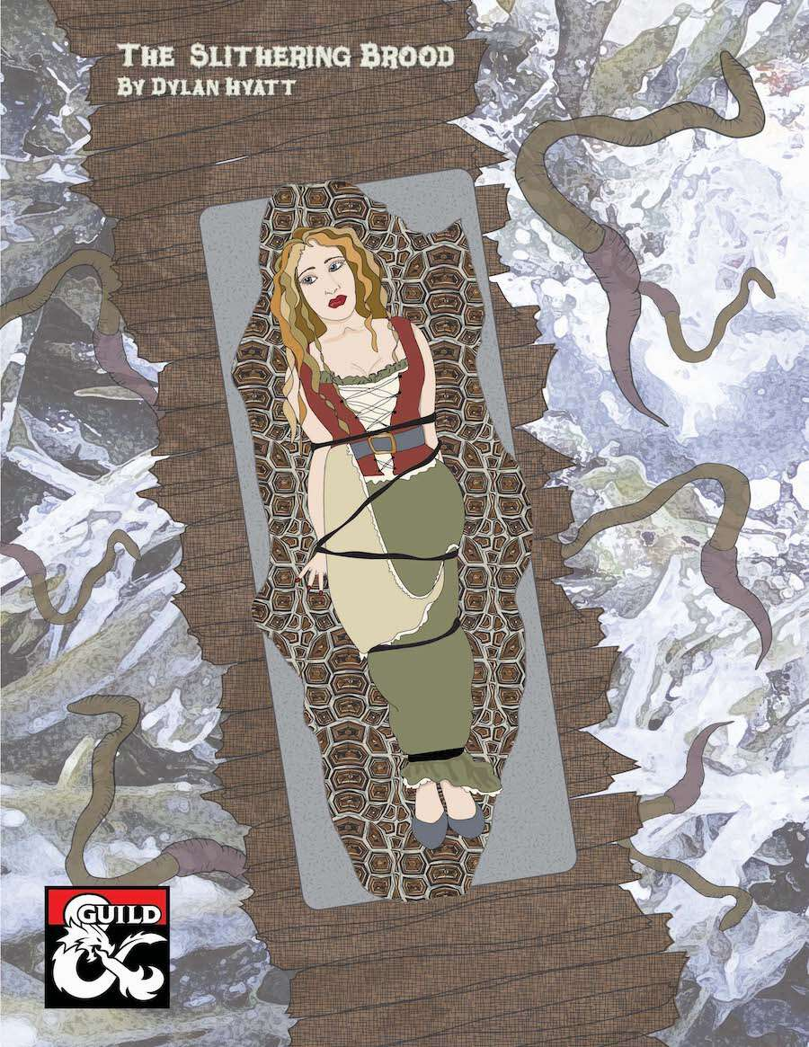 Cover of The Slithering Brood