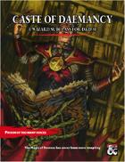 Caste of Daemancy: A Demonic Wizard Subclass