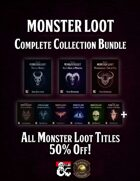 Monster Loot - Complete Collection (PDF & FG)  [BUNDLE]