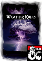 5e Weather Rules: All Terrain Types