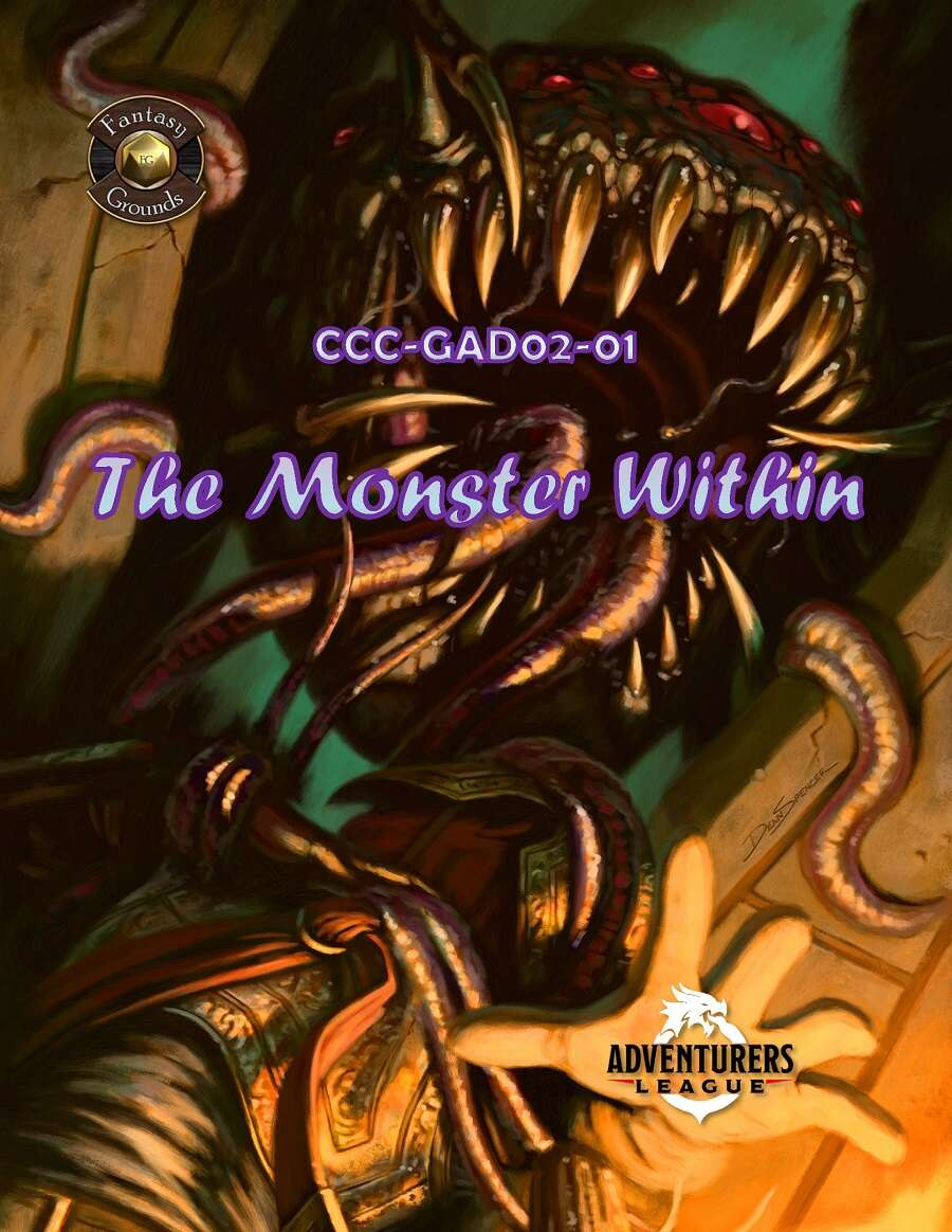 Cover of CCC-GAD02-01 The Monster Within