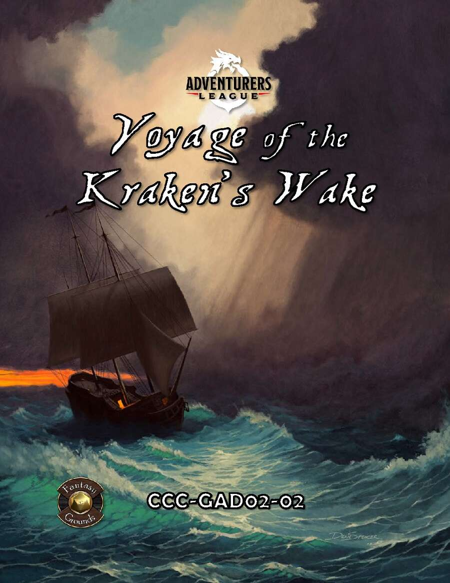 Cover of CCC-GAD02-02 Voyage of the Kraken's Wake
