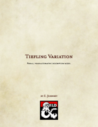 Tiefling Variations