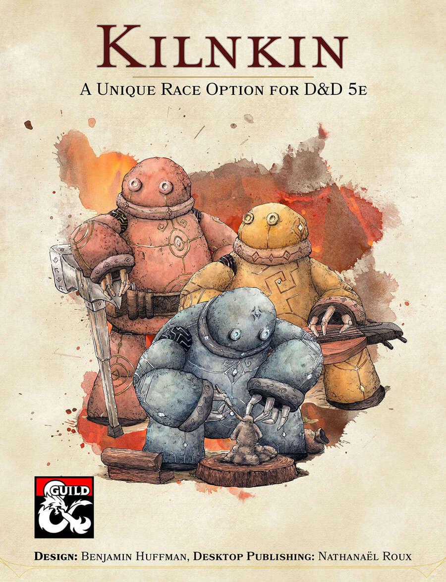 Kilnkin An Original Race For D D 5e Dungeon Masters Guild Dungeon Masters Guild