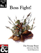 The Swamp Beast (Boss Fight: Issue #3)