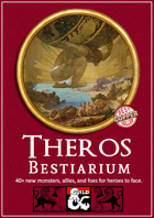 Theros Bestiarium - 62 New Monsters for your Theros Campaign