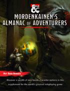 Mordenkainen's Almanac of Adventurers