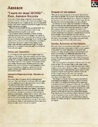The Arserin | Draconic Goosefolk | 5e Race