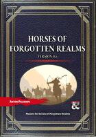 Horses of Forgotten Realms