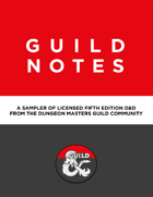Guild Notes: Supporting Red Nose Day