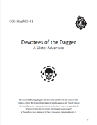 CCC-SCAR03-01 Devotees of the Dagger