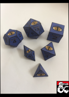 Dice of the Beholder Papercraft