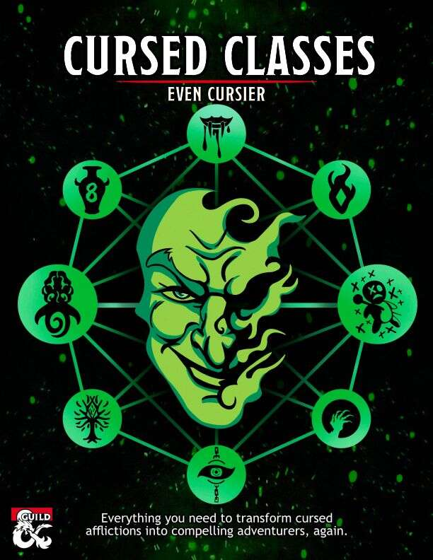 8 cursed classes, 20 new subclasses, MUCH CURSES.