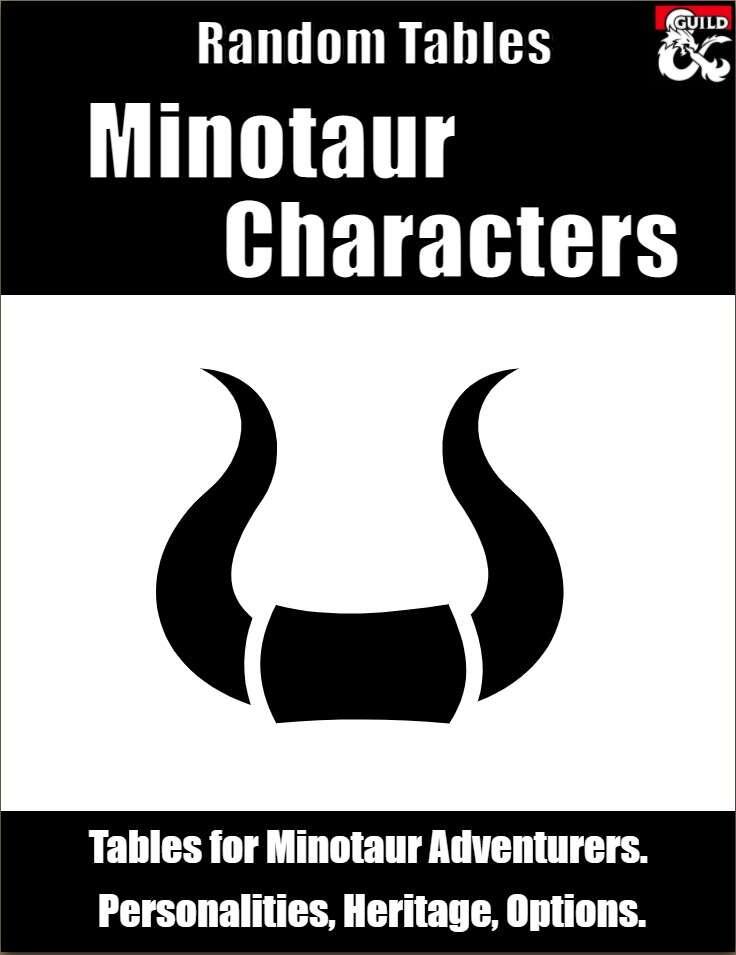 Minotaur Characters