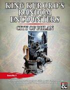 King Kuroro's Random Encounters Issue #01 - City of Phlan