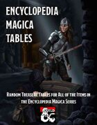 Encyclopedia Magica Tables