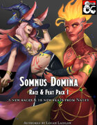 Somnus Domina - Feats & Races Pack I (5e)