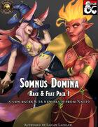 Somnus Domina - Feats & Races Pack I (5e) (Fantasy Grounds Mod)