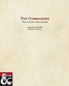 The Commander Class