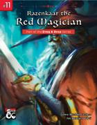 Drag & Drop #11: Razenkaar the  Red Magician