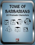 Tome of Barbarians