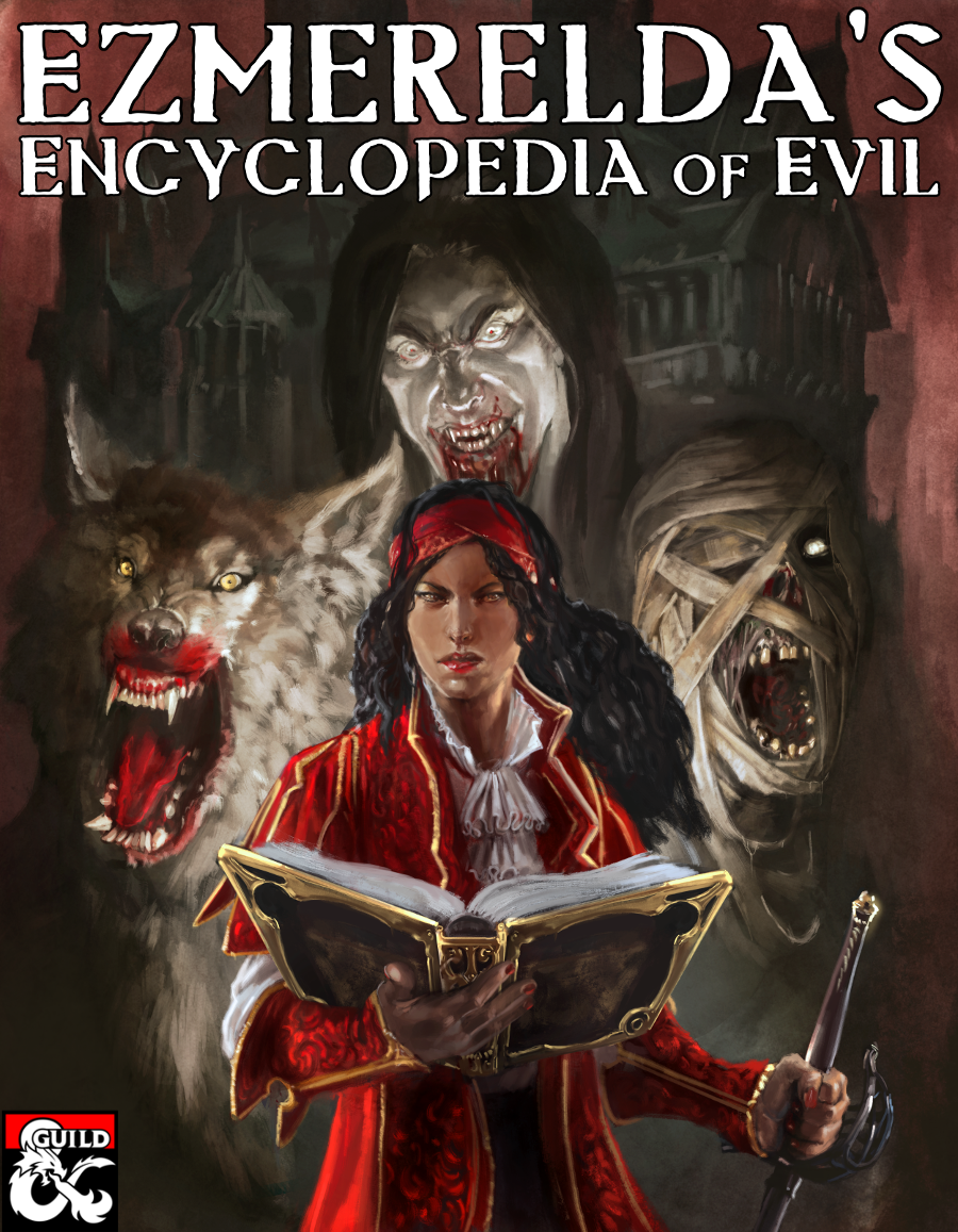Ezmerelda's Encyclopedia of Evil Cover