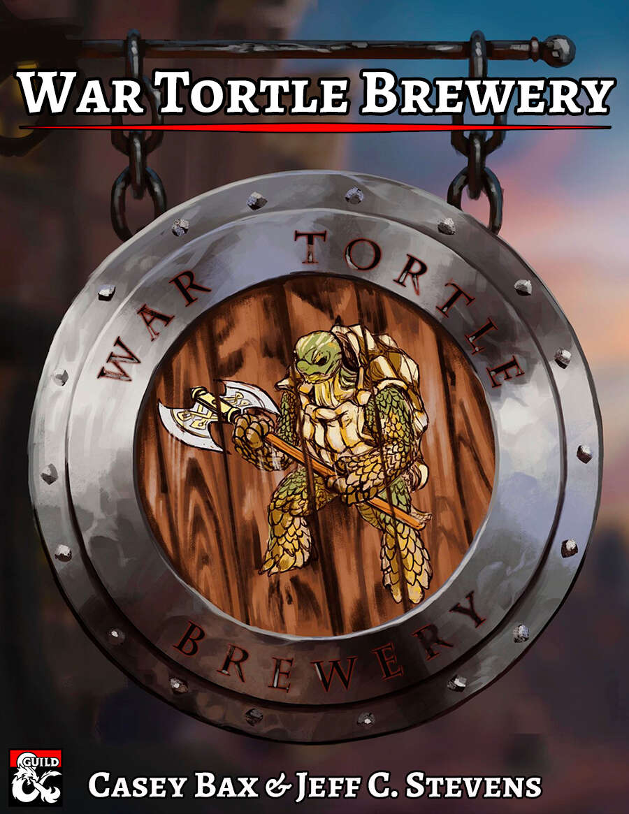 Cover of War Tortle Brewery